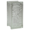 Pittsburgh Corning Icescapes Thinline 16-Pack Glass Blocks (Common: 8-in H x 4-in W x 3-in D; Actual: 7.75-in H x 3.75-in W x 3.12-in D)