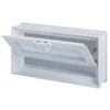 Pittsburgh Corning 16-in x 8-in x 4-in White Glass Block
