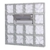 Pittsburgh Corning GuardWise Decora Vented Frameless Replacement Glass Block Window (Rough Opening: 32-in x 32-in; Actual: 31.5-in x 31.5-in)