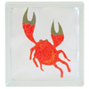 Pittsburgh Corning Expressions Crab Glass Block (Common: 8-in H x 8-in W x 4-in D; Actual: 7.75-in H x 7.75-in W x 3.87-in D)