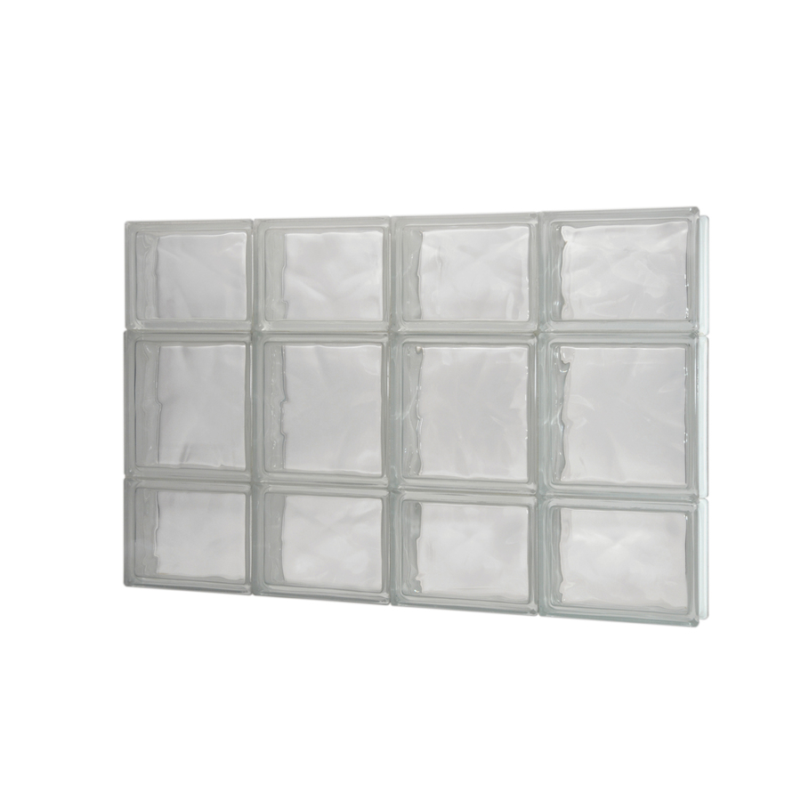 Glass window lowes glass block windows for Lowes windows