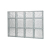 Pittsburgh Corning GuardWise Decora Solid Frameless Replacement Glass Block Window (Rough Opening: 32-in x 22-in; Actual: 31.5-in x 21.75-in)