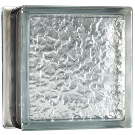 Shop pittsburgh corning energy efficient decora 8 pack for Glass blocks for crafts lowes