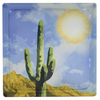 Pittsburgh Corning Expressions Cactus Art Block Glass Block (Common: 8-in H x 8-in W x 4-in D; Actual: 7.75-in H x 7.75-in W x 3.875-in D)