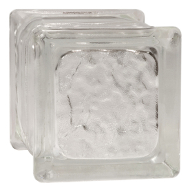 Shop pittsburgh corning 8 pack icescapes premiere series for Glass blocks for crafts lowes