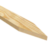 25-Pack 12-in Wood Landscape Stakes