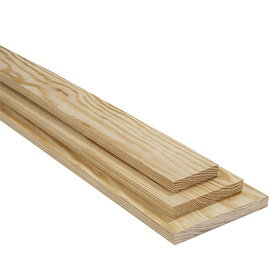 Shop green southern yellow pine softwood board at for Softwood decking boards