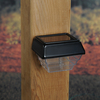Maine Ornamental Black LED Deck Post Cap