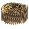 PneuScrew 1800-Count #8 x 2.25-in Flat-Head Yellow Zinc Interior Wood Screws