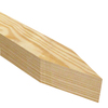 6-Pack 60-in Wood Landscape Stakes