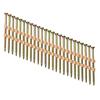 PneuScrew 1000-Count #9 x 2.5-in Flat-Head Yellow Zinc Square-Drive Interior Wood Screws
