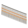 PneuScrew 1000-Count #9 x 2-1/2-in Flat-Head Stainless Steel Square-Drive Deck Screws