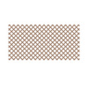 Saddle Vinyl Traditional Lattice (Common: 48-in x 8-ft; Actual: 0.125-in x 47.5-in x 7.91-ft)