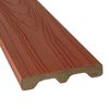 Style Selections 5/4 x 6 x 8 Sienna Red Ultra-Low Maintenance Composite Decking