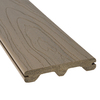 Style Selections 5/4 x 6 x 12 Fieldstone Gray Ultra-Low Maintenance Composite Decking
