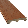 Style Selections Brown Tongue and Groove Composite Deck Board (Actual: 1-in x 5.44-in x 12-ft)