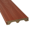Style Selections 5/4 x 6 x 16 Sienna Red Ultra-Low Maintenance Composite Decking