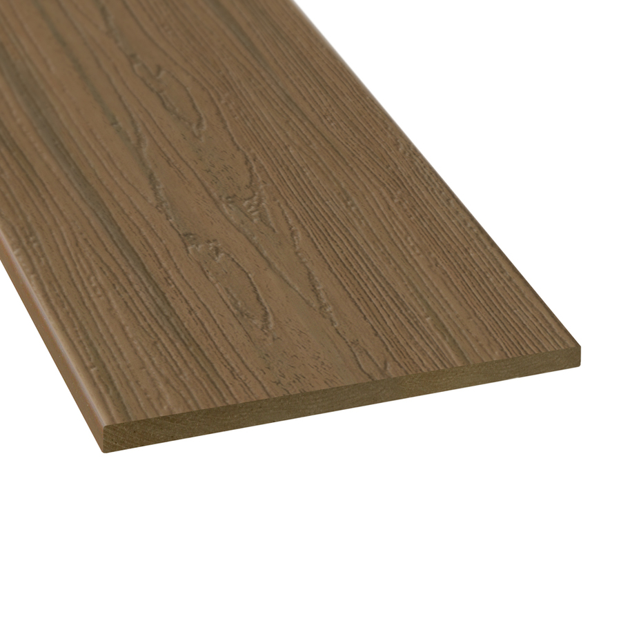 Shop style selections autumn brown composite deck trim for Composite decking boards