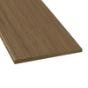 Style Selections 1 x 12 x 12 Autumn Brown Composite Deck Trim Board