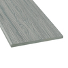 Style Selections 1 x 12 x 12 Fieldstone Gray Composite Deck Trim Board