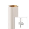 Style Selections 36-in White Composite Deck Baluster