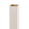 Style Selections 5-in x 5-in x 52-in White Composite Deck Post Sleeve