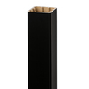 Style Selections 5-in x 5-in x 52-in Black Composite Deck Post Sleeve