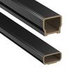 Deckorators 96-in Black Composite Deck Railing Kit