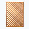 Wood Cedar Privacy Lattice (Actual: 0.5-in)