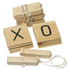 Belknap Hill Trading Post Indoor/Outdoor Tic-Tac-Toe Party Game with Case