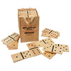 Belknap Hill Trading Post Indoor/Outdoor Dominos Party Game with Case