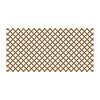 Cedar/Redwood Vinyl Traditional Lattice (Common: 48-in x 8-ft; Actual: 0.125-in x 47.5-in x 7.91-ft)