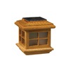 Deckorators Natural Oak LED Deck Post Cap