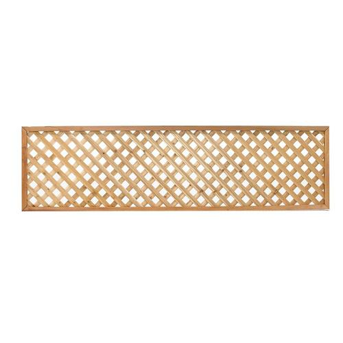 Cedar Privacy Wood Lattice From Lowes Fencing Outdoor