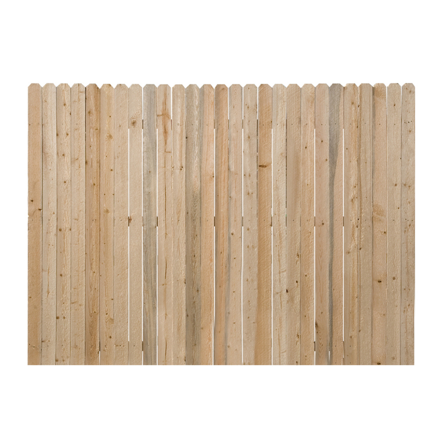 Lowe 39 S Wood Privacy Fence Panels