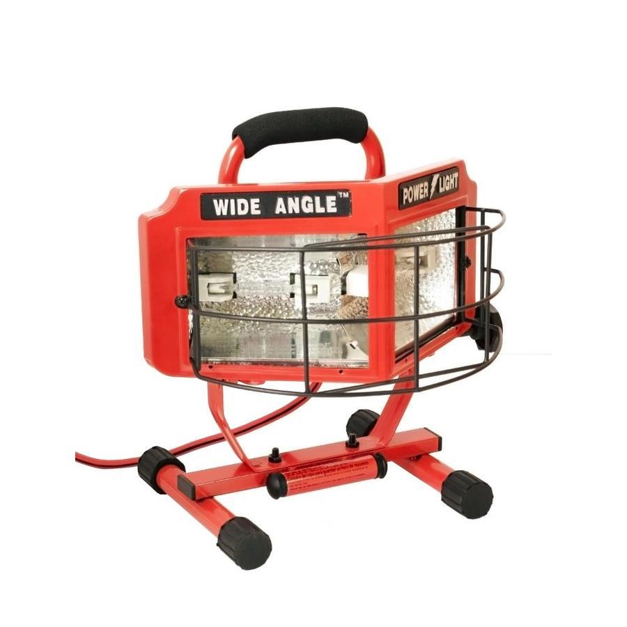 Shop Lights Portable: Shop Designers Edge 500-Watt Halogen Portable Work Light