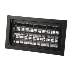 Air Vent 16 x 8 Black  Automatic Foundation Static Ventilation