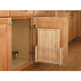 Rev-A-Shelf 13.5-in W x 2.8-in D x 16.88-in H 1-Tier Wood Pull Out Cabinet Basket