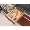 Rev-A-Shelf 19.75-in x 16-in Wood Spice Tray Insert Drawer Organizer