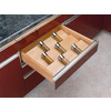 Rev-A-Shelf 19.75-in x 22-in Wood Spice Tray Insert Drawer Organizer