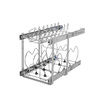 Rev-A-Shelf 11.75-in W x 22-in D x 18.12-in H 2-Tier Metal Pull Out Cabinet Basket