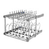 Rev-A-Shelf 20.75-in W x 22-in D x 18.12-in H 2-Tier Metal Pull Out Cabinet Basket