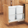 Rev-A-Shelf 27-Quart Aluminum Trash Can