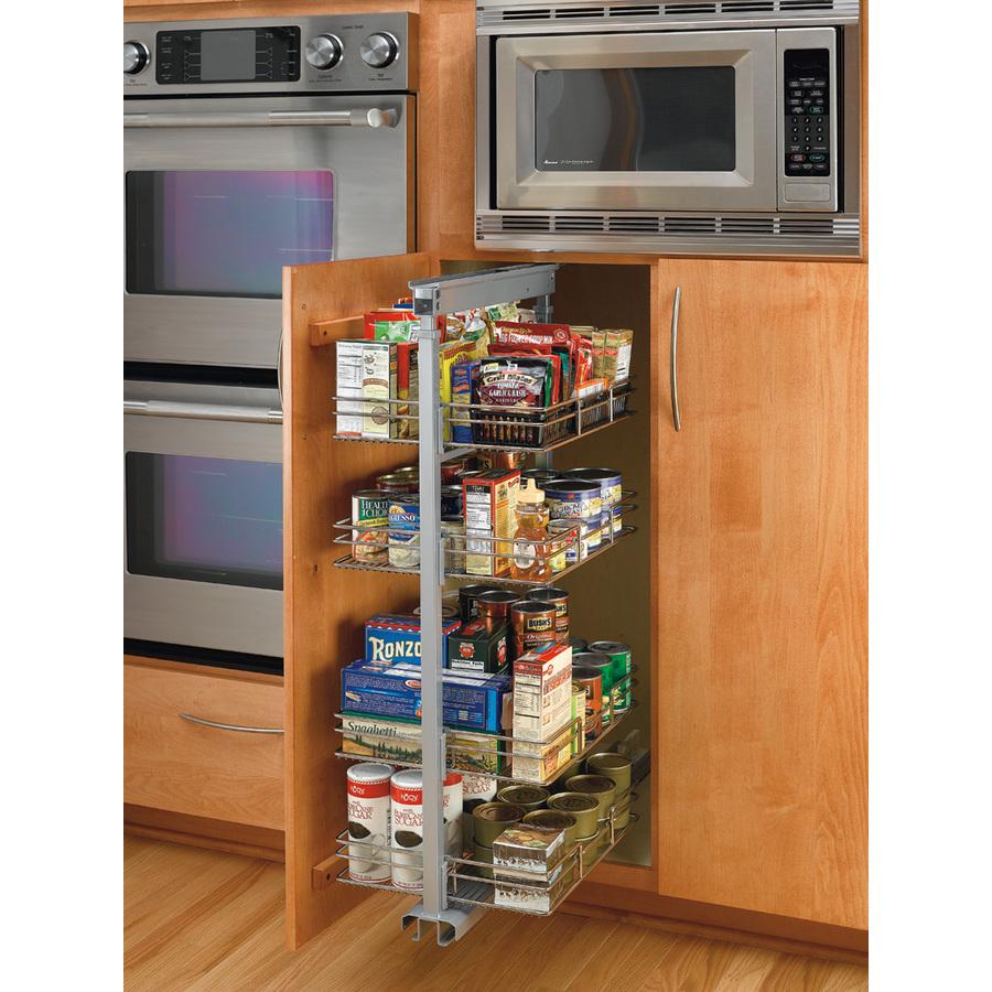 Shop Rev-A-Shelf 8.88-in W x 20-in D x 50.38-in H 4-Tier ...