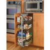 Rev-A-Shelf 20.63-in W x 20-in D x 80.75-in H 6-Tier Metal Pull Out Cabinet Basket