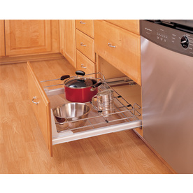 Rev-A-Shelf Bottom/Side/Door Mount Pull-Out Shelf
