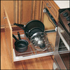 Rev-A-Shelf 1-Tier Metal Pull Out Cabinet Basket