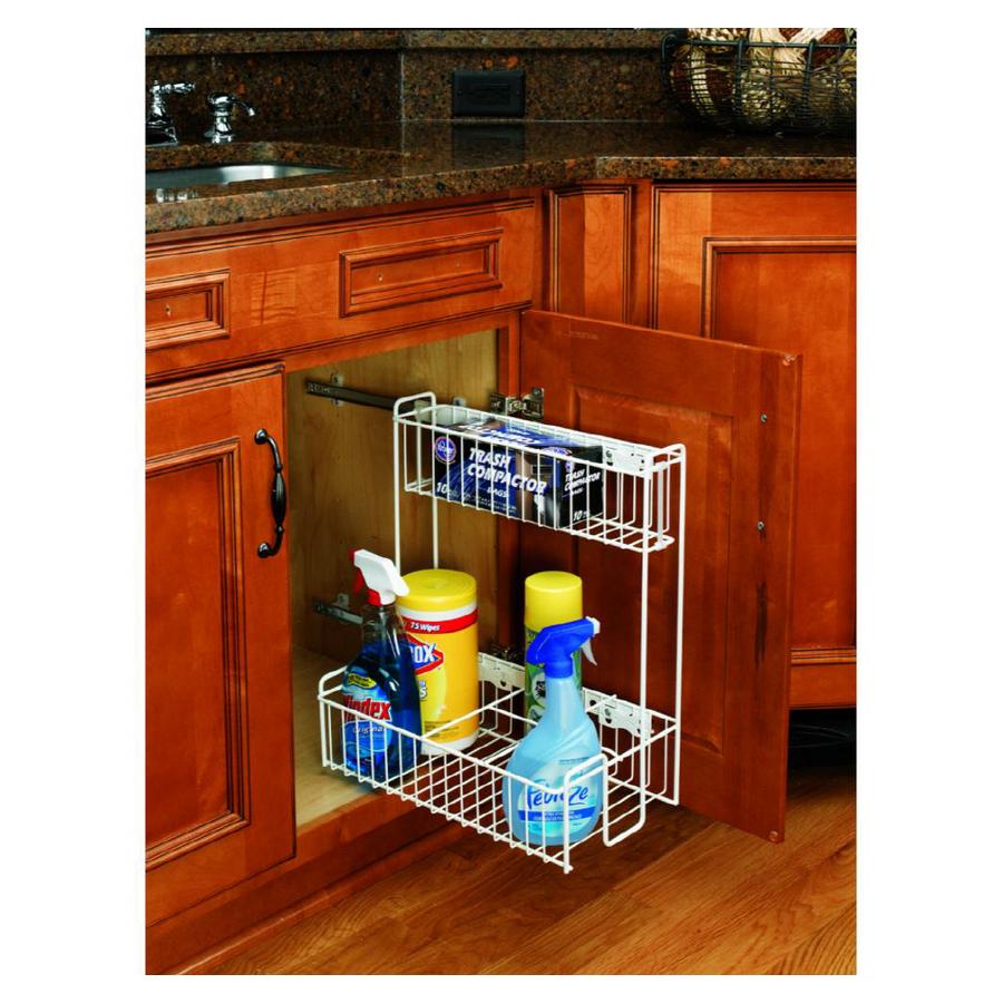 shop rev a shelf pull out base organizer at. Black Bedroom Furniture Sets. Home Design Ideas