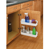 Rev-A-Shelf 7-7/8-in W x 3-5/8-in H White Plastic Bin
