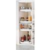 Rev-A-Shelf 2-Tier Plastic D-Shape Cabinet Lazy Susan